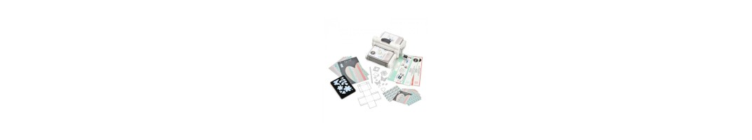 Big Shot Sizzix, fustelle e accessori