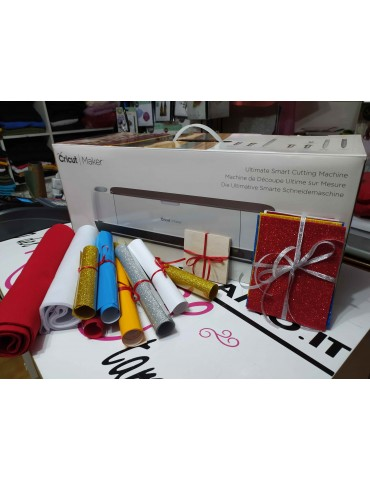 Cricut Maker + Kit materiali inclusi